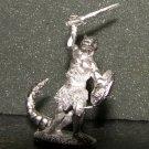 TSR Lizardman rare 25mm D&D gaming miniature lead