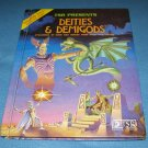 AD&D Deities and Demigods Dungeons & Dragons vtg book