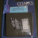 Citadel FS2 Necormancer w/ female 25mm Dungeons Dragons lead figures MOC