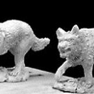 Reaper War Dogs x2 gaming figures 28mm 25mm pewter