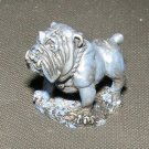 Reaper Guard Dog bulldog 28mm familiar figure pewter