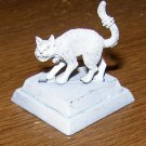 Reaper Warhammer large cat 25-28mm familiar figure pewter w/ base