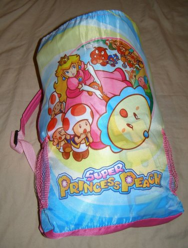 Nintendo Princess Peach Sleeping Bag Super Mario Brothers 2011