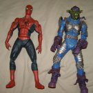 "Spiderman & Green Goblin large 12"" poseable figures"