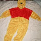 Winnie the Pooh fuzzy plush XS toddler costume Disney Store