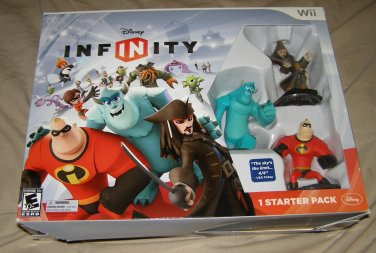 Nintendo Wii Disney Infinity Starter Pack 1.0 BRAND NEW!
