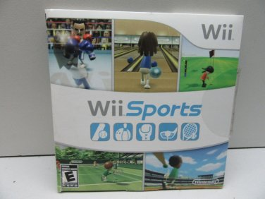 Nintendo Wii Sports game - COMPLETE - Case + Instructions