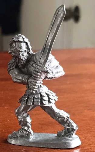 Ral Partha fine Pewter Fire Giant D&D dungeon miniature
