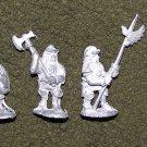 Grenadier Models Wizzards & Warriors LOTR Uruk Hai orcs (4) / 25mm D&D miniature figures