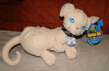 Austin Powers Dr. Evil Mr. Bigglesworth plush cat 1998 TrendMasters BlockBuster