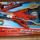 Marvel Spiderman Web shooter Mega blaster playset LN + extra web