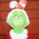 Plush How the Grinch Stole Christmas Santa Dr. Seuss movie toy NWT