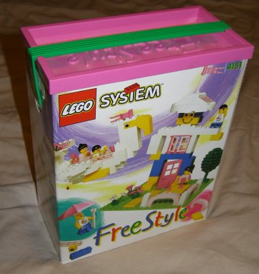 LEGO Freestyle 4151 girls building boxed set complete