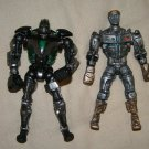 "Reel Steel battle robot 5"" action figures x2 Atom and Zeus"