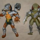 Kenner Predator Scavage & Cracked Tusk action figures loose GC