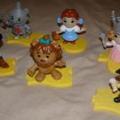 Wizard of Oz 75th Anniversary McDonalds fast food figure full set w/ bases