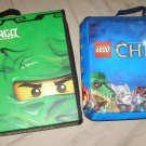 LEGO CHIMA + NINJAGO Battle Case Storage Zip Bin zippered landscape mats