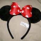 Minnie Mouse Disney theme Parks costume ears HTF