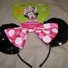 Minnie Mouse Disney Disguise Halloween costume ears NWT