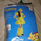 Pikachu Girl Child Size MED 5-7 Pokemon Halloween Costume by Rubies
