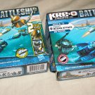 KRE-O BattleShip 38952 Ocean Attack x2 sets / one new + one buildup