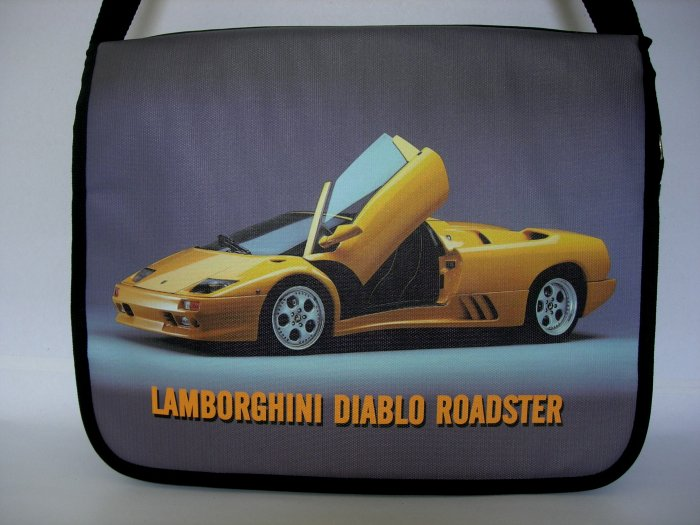 "Lamborghini Diablo Roadster 15"" Laptop Notebook Shoulder Case Bag"