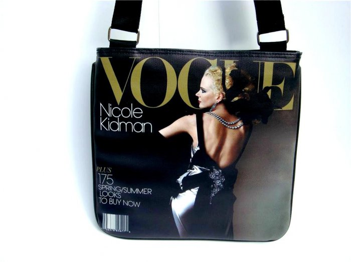 Nicole Kidman Vogue Magazine Cover Fashion Messenger Bag Purse