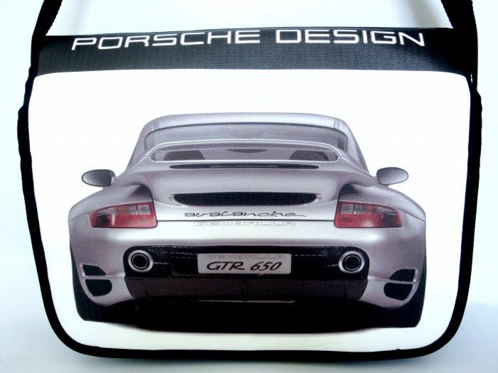 "Porsche Avalanche Sport Car 15"" Laptop Notebook Shoulder Case Bag"