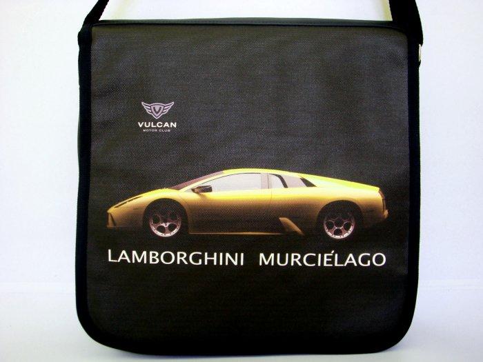 "Lamborghini Murcielago Sport Car 10"" Laptop Notebook Shoulder Case Bag"