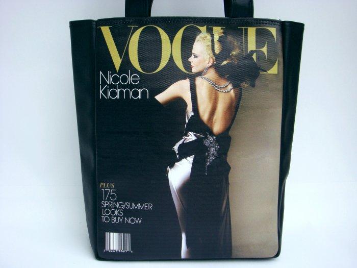Nicole Kidman Vogue Magazine Fashion Large Shoulder Tote Bag Purse