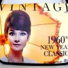 """Audrey Hepburn Vintage 1960s 15"""" Laptop Notebook Shoulder Case Bag"""