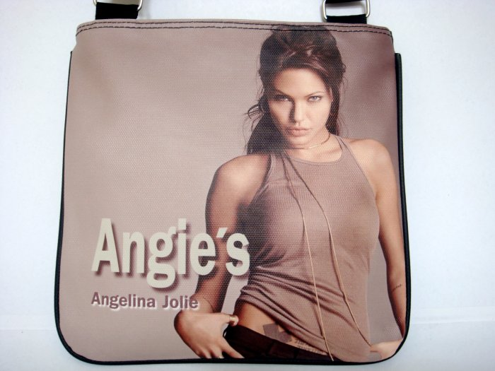 Angelina Jolie Sexy Fashion Messenger Sling Bag Purse