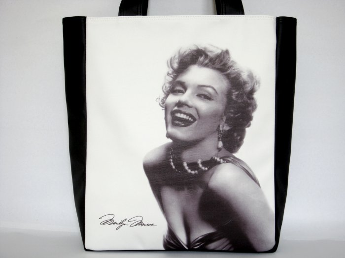 Marilyn Monroe Signature Classic Large Tote Shoulder Bag Purse