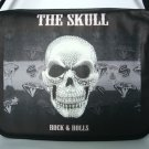 The Skull Punk Rock & Roll 15'' Laptop Notebook Shoulder Case Bag