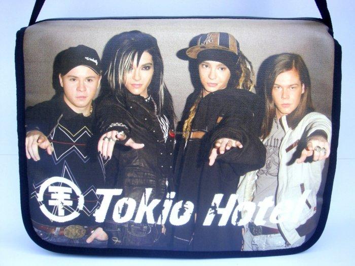 """Tokio Hotel Pop Rock Band Emo 15"""" Laptop Notebook Shoulder Cool Case Bag"""