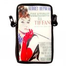 Audrey Hepburn  Mobile Cell Phone MP3 Camera Case Pouch Bag