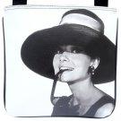 Audrey Hepburn Retro Hollywood Rare Messenger Cross Body Sling Bag Purse