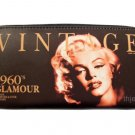 Marilyn Monroe Vintage Credit Card Money ID Holder Wallet Purse Bag