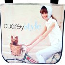 Audrey Hepburn Vintage Retro Bicycle Messenger Sling Bag Purse
