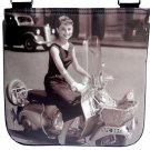 Audrey Hepburn Retro Classic Vespa Messenger Bag Purse
