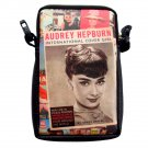 Audrey Hepburn International Cover Girl Mobile Phone Camera Case Pouch
