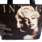 Marilyn Monroe Vintage Glamour Wide Tote Shoulder Bag Purse Handbag