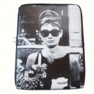 Audrey Hepburn Retro Rare iPad 1 2 3 4 Mini Air Netbook Tablet Sleeve Case Cover Skin Bag