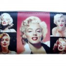 Marilyn Monroe Retro Picture Collage ID Coin Bill Holder Wallet Purse Bag