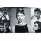 Audrey Hepburn Rare Photo Collage Travel Wallet ID Holder Bag