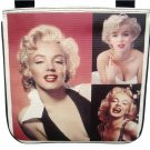 Marilyn Monroe Photo Collage Retro Messenger Sling Bag Purse