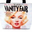 Marilyn Monroe Vanity Fair Magazine Cover Wide Tote Shoulder Bag Purse