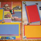 Disney Cars Premade 12x12 Scrapbook Pages