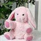 New 8 Inch Pink Satin Bunny Kit ~ Make your own Stuff Animal