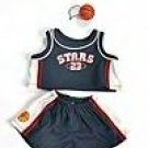 New Basketball Uniform ~ fits Build A Bear and other 15inch Animals